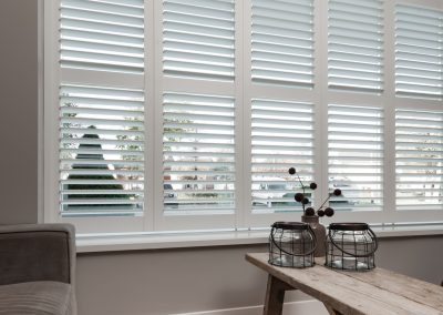 Shutters wit vouwrailsysteem